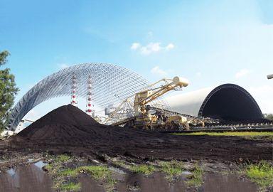 Philippine CALACA 2X150MW Power Plant  of Coal Storage Space Frame Project