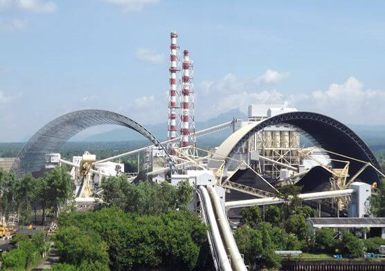 Philippine CALACA 2X150MW Power Plant  of Coal Storage Space Frame Project