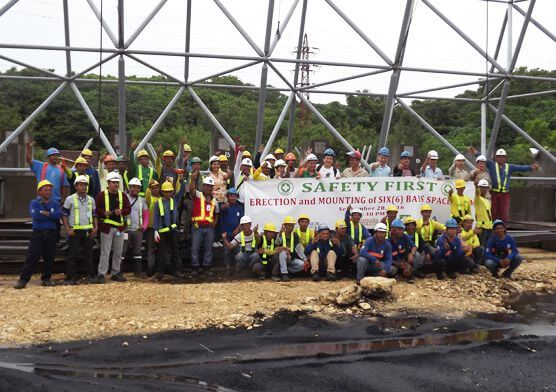 Philippines Semirara Space Frame Coal Shed