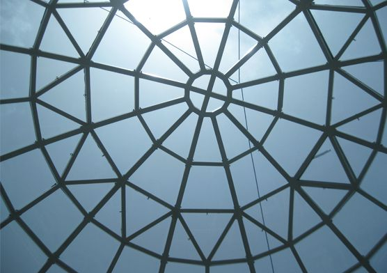 The Glass Roof of Togo's Presidential Palace