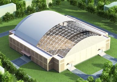 The Republic of Marshall Islands Stadium Roof