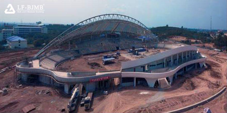 stadium bleacher roof,stadium canopy