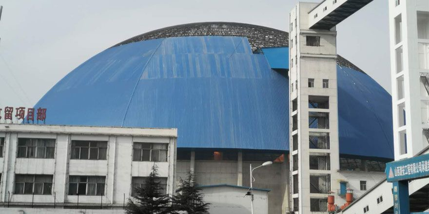 Space Frame Structure Coal Storage Shed Roof