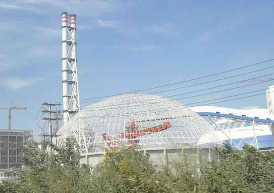 HuaNeng NanJing Jinling Power Dome Coal Storage(2 sets)