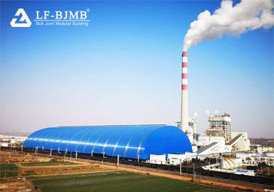 Thermal Power Plant Space Frame Coal Yard Storage Closure Project