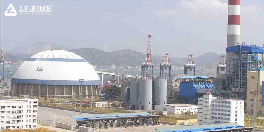 Dome Roof Coal Storage of Coal Power Plant