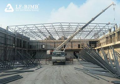 Light Steel Bolt Ball Space Frame Roof System