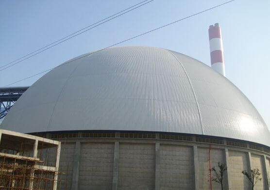 MengJin Power Plant Coal Yard Domes(2 sets)