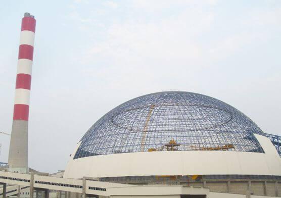 MengJin Power Plant Coal Yard Domes(2 sets)