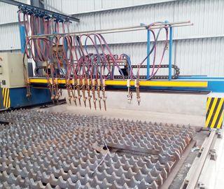 Multi-head CNC Gas Cutting Machine