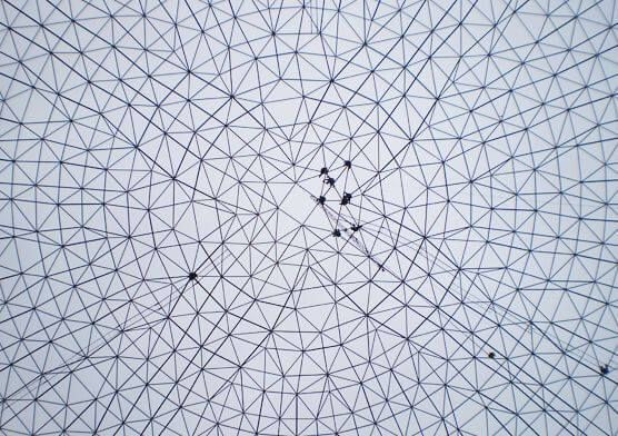 Nine Dragons Paper Space Frame Coal Yard Domes(2 sets)