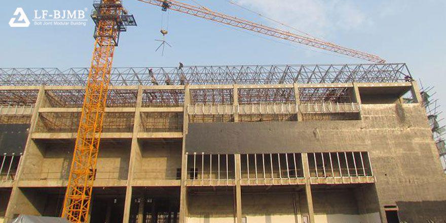 build a stadium structure