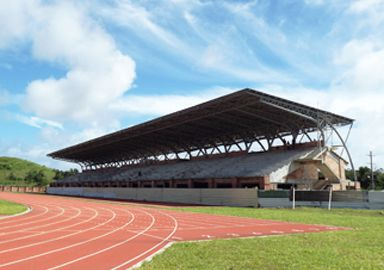 Philippine Oval Bleachers Steel Truss Project