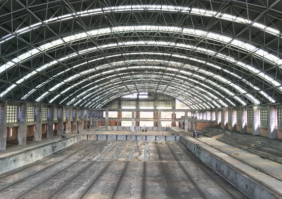 Philippine Swimming Pool Space Frame Roof