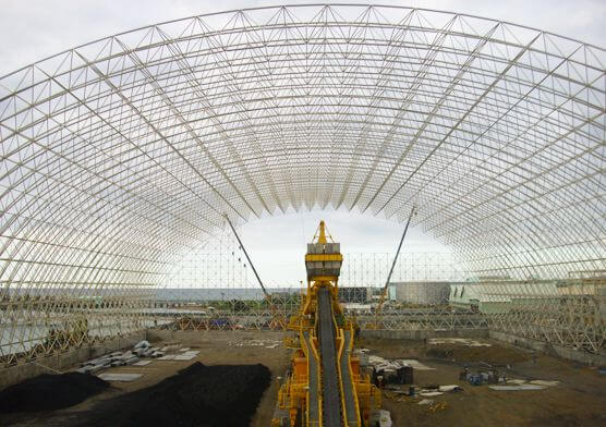 Philippine Toledo Space Frame Coal Storage Shed