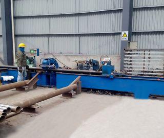 Plasma Cutting Steel Pipe Blanking Machine