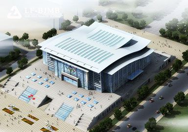 Customized Stadium Space Frame Roof Project