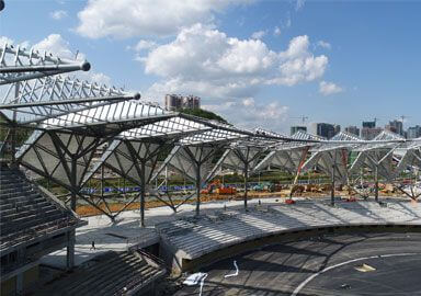 Steel Space Truss Sports Center Stadium Project