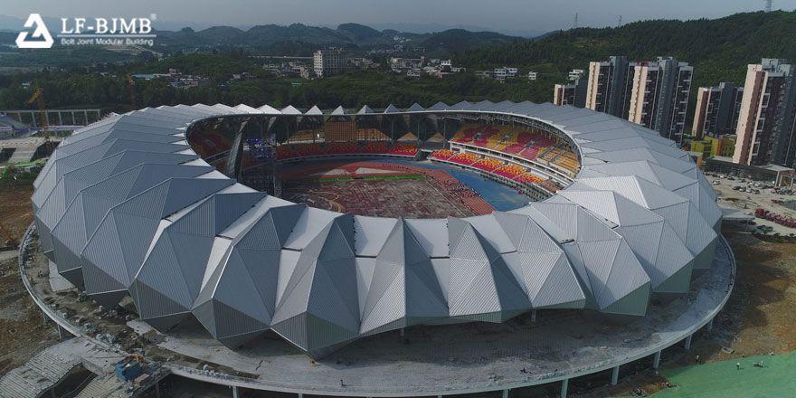Steel Space Truss Sports Center Stadium Project