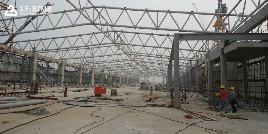 space truss building