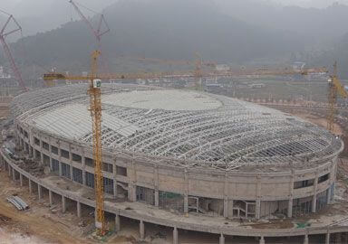 Stadium Project of Prefecture National Fitness Activity Center