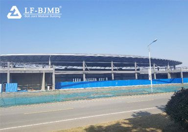 Light Steel Space Frame Structure Exhibition Center Project