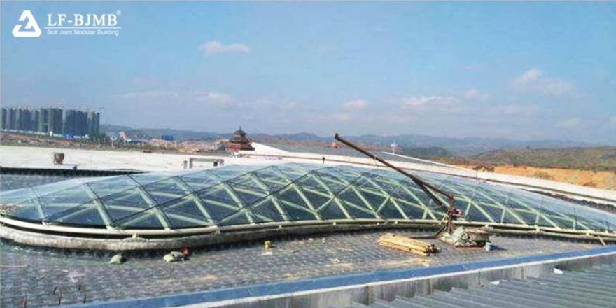 Steel Roof Truss of Convention Center