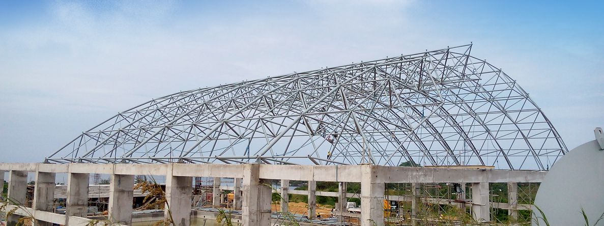 Gymnasium/Swimming Pool Roof Solutions