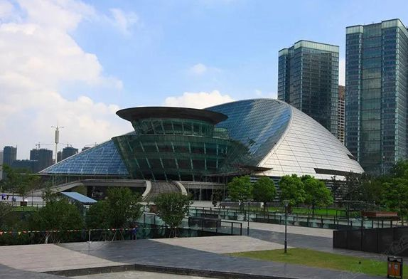 Hangzhou Grand Theater structures