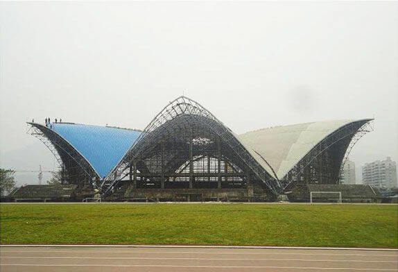 Four advantages of steel frame structure building superior to concrete structure