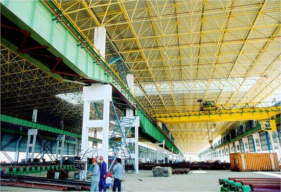 How to reduce the temperature of steel structure
