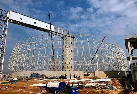 Installation method and applicable scope technology of space frame