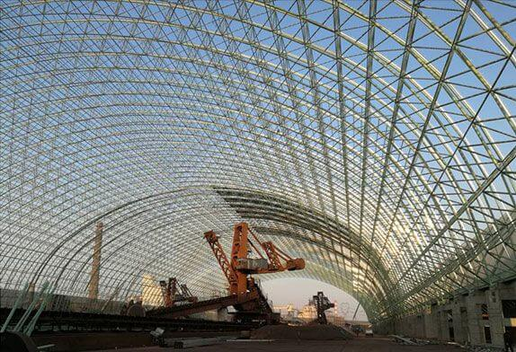 The details of space frame processing must be done well