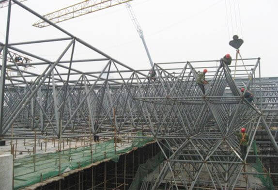 What are the forms of the space frame