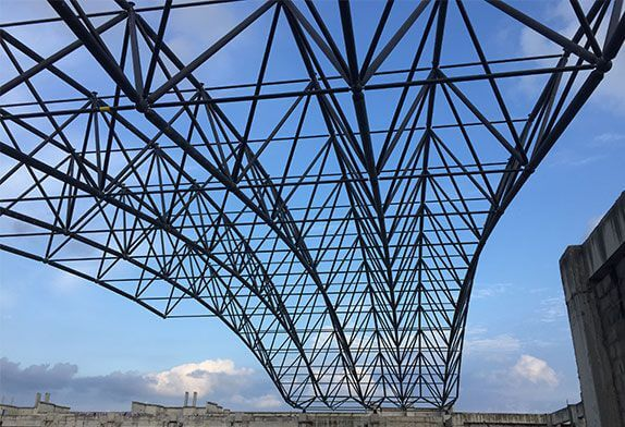 How to ensure the safety factor of the space frame